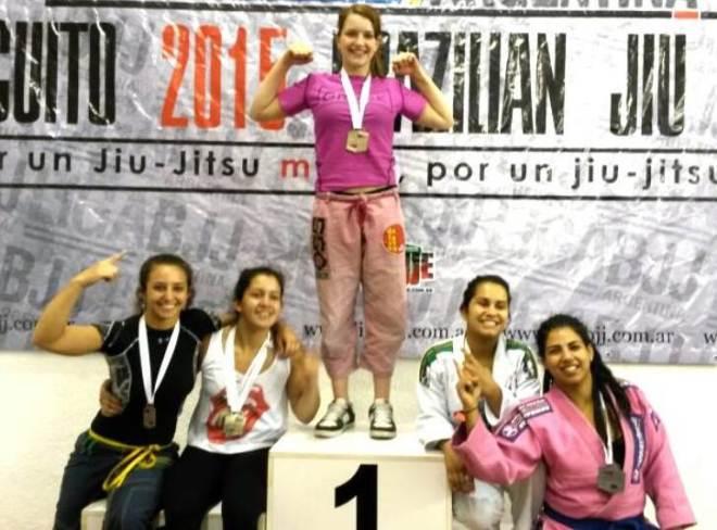 Jesica Rao otra vez hizo podio en Jiu Jitsu.