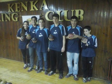 Los seis chicos que representan a nuestra ciudad en el Argentino  Juvenil de Bowling