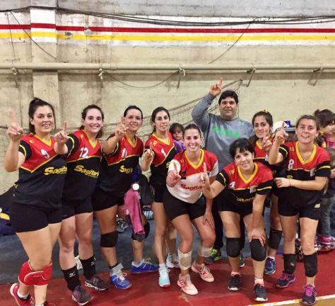Las Españolas volvieron a quedarse con el 1 en la Liga Cuenca del Salado..jpg