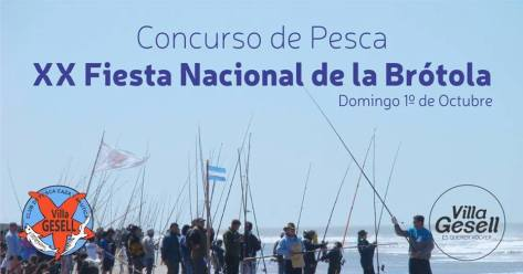 Este domingo, a partir de las 10 las playas geselinas se visten de gala para recibir la XX Fiesta Nacional de La Brótola..jpg
