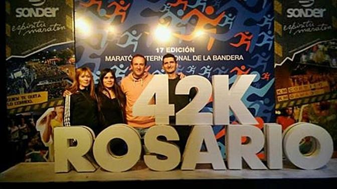 BIEN REPRESENTADOS EN LA MARATÓN INTERNACIONAL DE ROSARIO