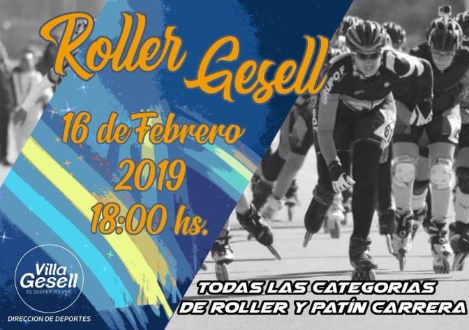 "SE VIENE EL PRIMER ""ROLLER GESELL"""
